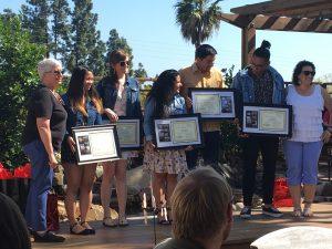 Students graduating from MARC program