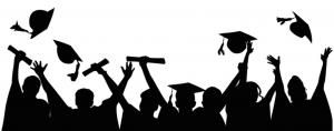 clipart of graduates